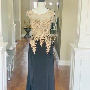 Very elegant evening dress